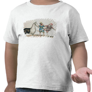 Grimaldi and the Alpaca, in the Popular Pantomime Tee Shirt