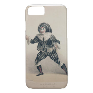 Grimaldi as Scaramouche, from the Commedia dell'Ar iPhone 7 Case