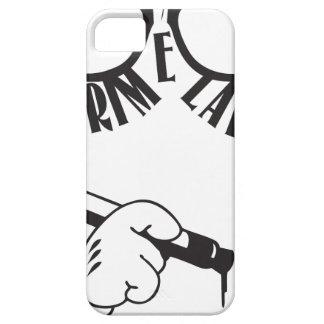 Grime Lab Writer iPhone 5 Cases