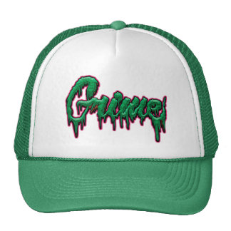 Grime text cap