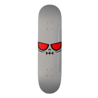 GrimFace™ Brand Grey Skateboard Deck