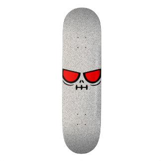 GrimFace™ Grey Satic Skateboard Deck