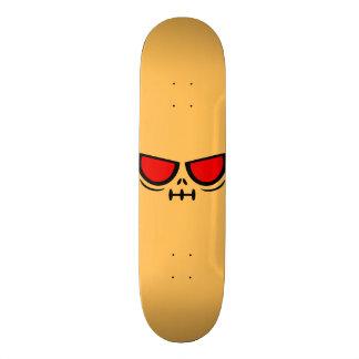 GrimFace™ Light Peach Skateboard Deck