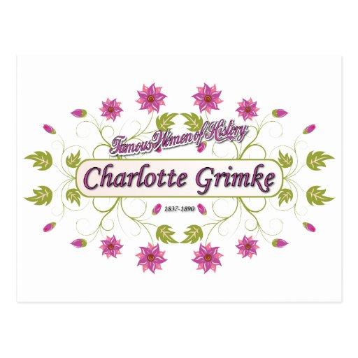 Grimke ~ Charlotte ~ Famous American Women Postcard