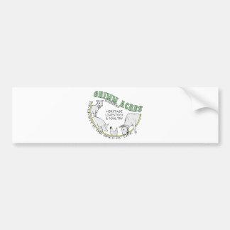 Grimm Acres, Diversified Logo Bumper Sticker