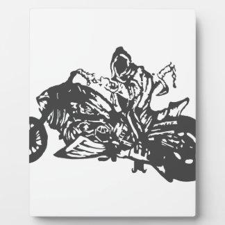 Grimm Reaper Chopper Motorcycle Photo Plaque