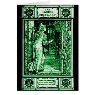 Grimm's Robber Bridegroom Greeting Card
