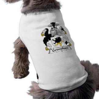 Grimshaw Family Crest Sleeveless Dog Shirt