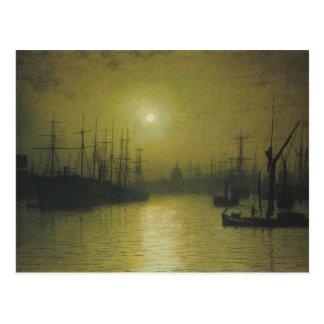 Grimshaw s Nightfall Thames Post Cards