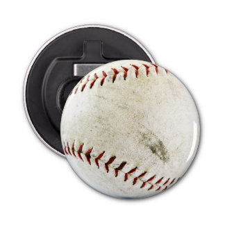 Grimy Dirty Softball or Baseball Bottle Opener