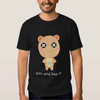 Grin and Bear It - Schlitz Tshirt