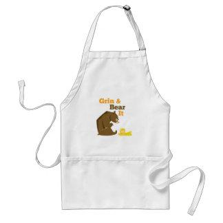 Grin & Bear It Standard Apron