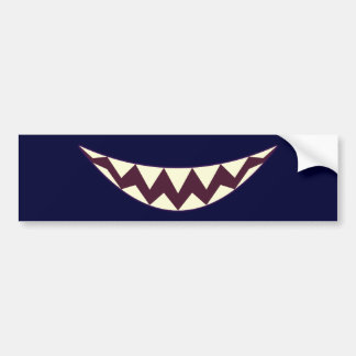 Grin Grinsekatze grin Cheshire cat Bumper Stickers
