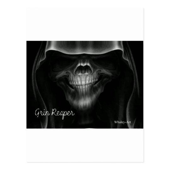 Grin Reaper Postcard
