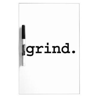 grind. dry erase whiteboards