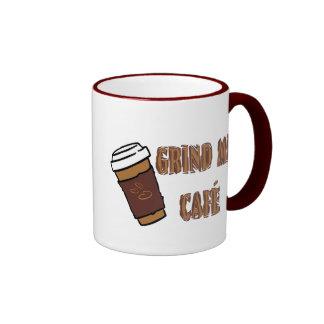 Grind Me Café Cup Ringer Mug