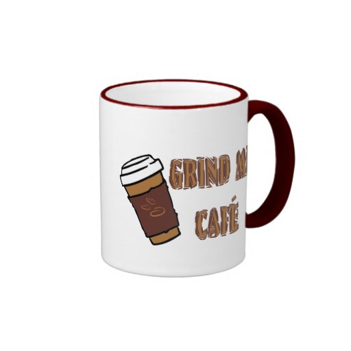 Grind Me Café Cup Mugs
