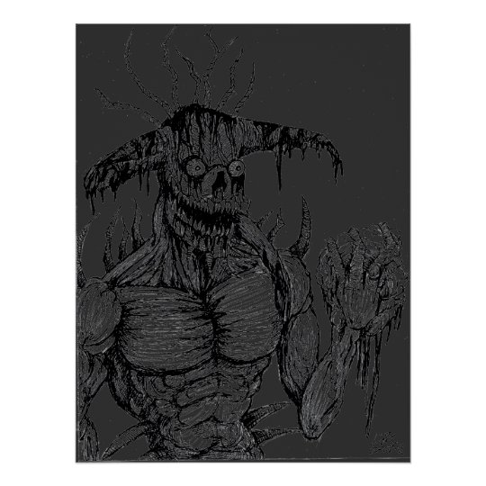 Grind Monster Poster