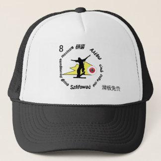 Grind skate board clothing hat