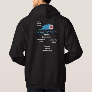 grind skateboard clothing sports logo hoodie