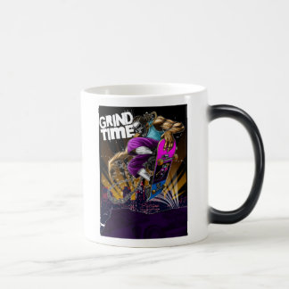 Grind Time 11 Oz Magic Heat Color-Changing Coffee Mug