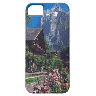 Grindelwald, chalet village house iPhone 5 case