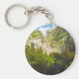 Grindelwald, glacier in summer key ring
