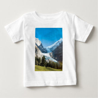 Grindelwald mountains in summer baby T-Shirt