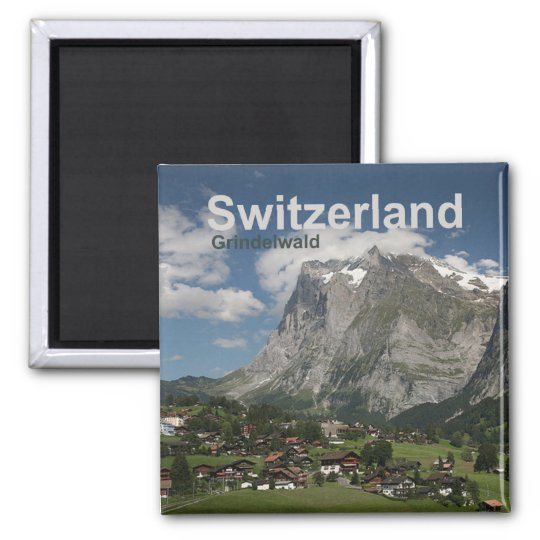 Grindelwald Switzerland Magnet Travel Souvenir