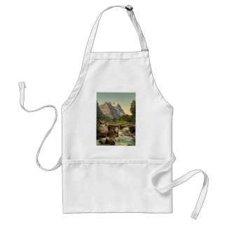 Grindelwald, with Eiger, Bernese Oberland, Switzer Adult Apron