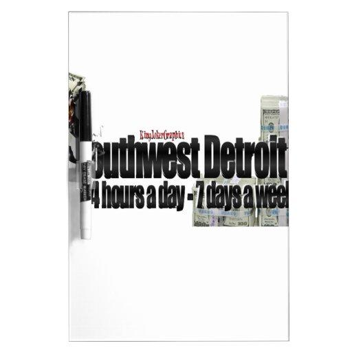 Grinding In Detroit Dry Erase Boards
