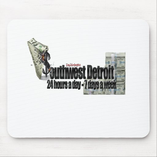 Grinding In Detroit Mousepads
