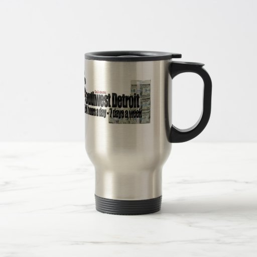 Grinding In Detroit Mug