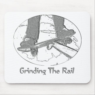 Grinding The Rail Mouse Pad