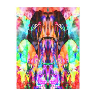 Grinding Thought Canvas Print