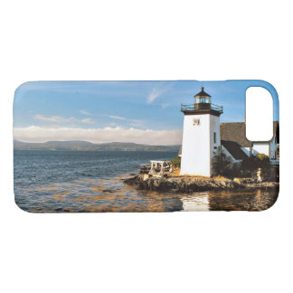 Grindle Point Lighthouse, Maine iPhone Case