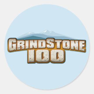 Grindstone 100 classic round sticker