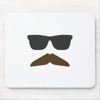 Gringo Moustache Mouse Pad