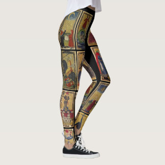 Gringonneur Tarot leggings