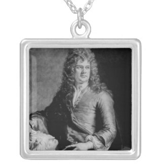 Grinling Gibbons , engraved by J. Smith Silver Plated Necklace