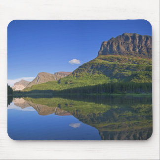 Grinnel Point and Allen Mountain reflect into Mouse Mat