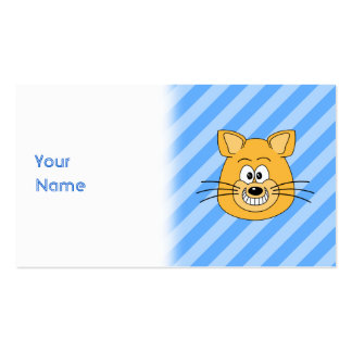Grinning Cat Business Card Templates