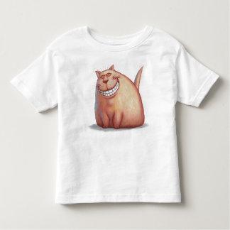 Grinning cat toddler T-Shirt