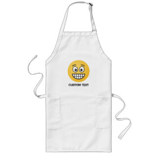 Grinning Face with Open Eyes Long Apron