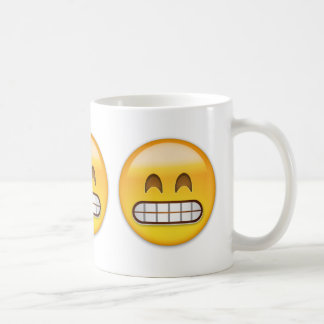 Grinning Face With Smiling Eyes Emoji Coffee Mug