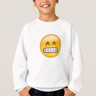 Grinning Face With Smiling Eyes Emoji Sweatshirt