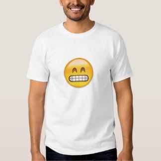 Grinning Face With Smiling Eyes Emoji Tshirt