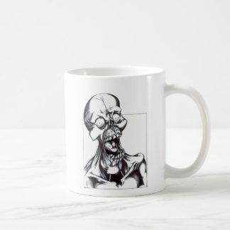 Grinning Ghoul Basic White Mug