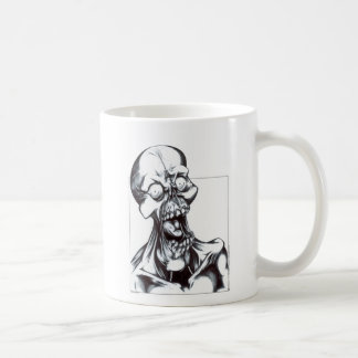 Grinning Ghoul Classic White Coffee Mug