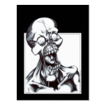 Grinning Ghoul Postcards